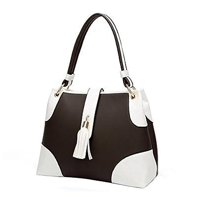 d10344f0d040 Fanspack Women's Top Handle Satchel Handbags Shoulder Bag Tote Purse ...