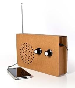 Suck UK SK CARDRADIO1 - Radio en carton (AUX)