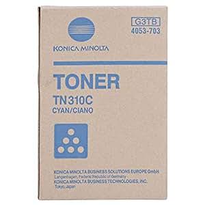 Konica Minolta Toner Cartridge - Tn310c, Cyan