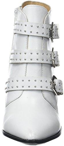 Bronx Damen Bx 1217 Bamericanax Slingback Pumps Weiß (bianco 04)