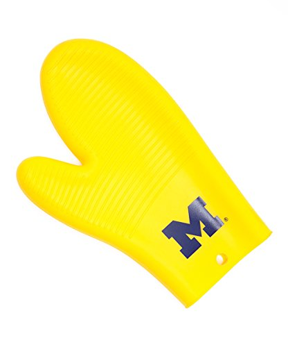 NCAA Michigan Wolverines Oven Mitt/Grilling Gloves, One Size, Yellow