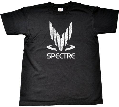 Xbox 360 T-shirt - Teamzad Spectre T Shirt Medium Black