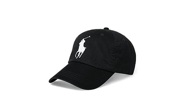 Ralph Lauren - Gorra de béisbol - para Hombre Negro Polo Black Talla única: Amazon.es: Ropa y accesorios