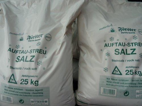 Sal Descongelante / Sal para Carreteras 25 Kg Streusalz Tausalz