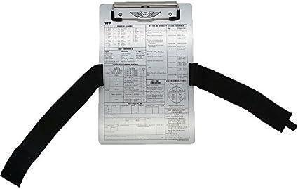 ASA-vFR kneeboard kniebrett pilotekniebrett: Amazon.es: Oficina y ...