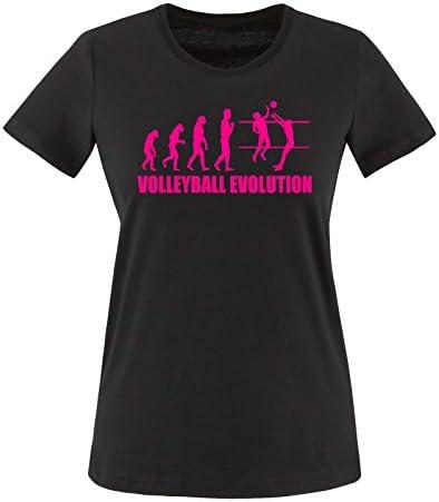 comedy koszulki – Volley Ball Evolution – damski T-Shirt – rozm. XS – XXL rożne. Kolory: Odzież