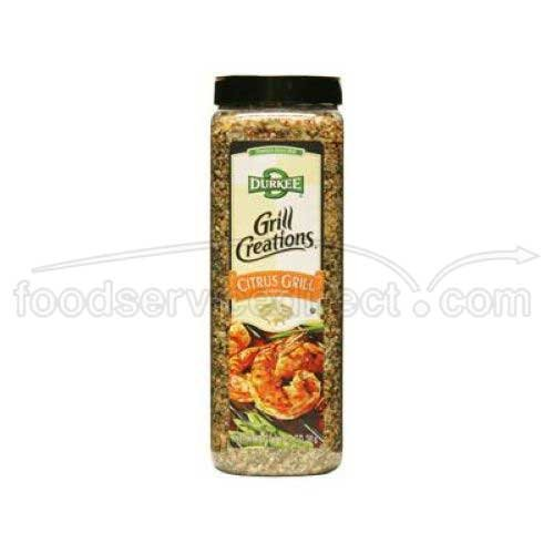 Durkee Citrus Grill Seasoning - 18 oz. container, 6 per case