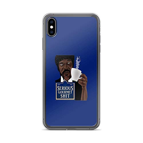 iPhone Xs Max Case Clear Anti-Scratch Serious Gourmet Shit Cover Phone Cases for iPhone Xs Max, Crystal Clear]()