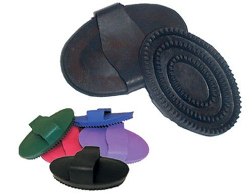 B000198CW8 Equine Grooming Flexible Rubber Curry Comb 41XstS5I2BgL