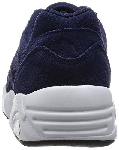 peacoat Basses Puma Baskets R698 Adulte white Mixte Bleu Allover black ffrB0