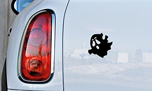 Cute Spooky Ghost Version 1 Car Vinyl Sticker Decal Bumper Sticker for Auto Cars Trucks Windshield Custom Walls Windows Ipad Macbook Laptop and More (Pandora The Witch Costume)