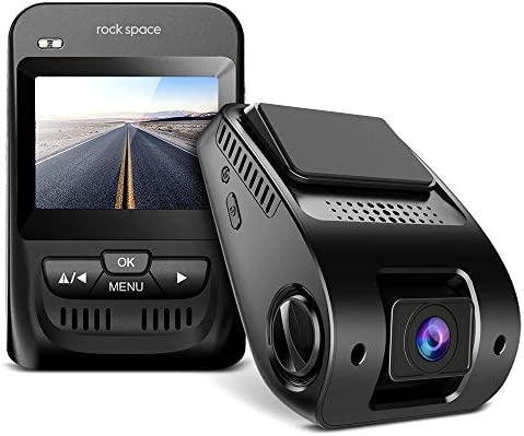 Dash Cam- 1080P FHD Car Camera 2.3 LCD Screen 150 Wide-Angle Car DVR with Sony Image Sensor, WDR, HDR, G-Sensor, Super Night Vision, Loop Recording,Emergency Recording, Black
