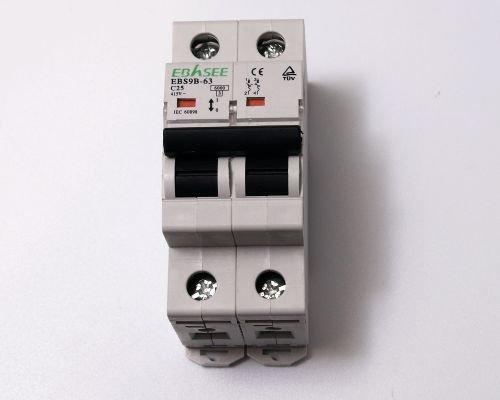 2 opinioni per 1X sicurezza automatica 2poli 25a interruttore magnetotermico 25Ampere