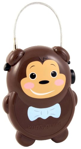 Buggyguard Retractable Stroller Lock, Monkey (Stroller Buggy)
