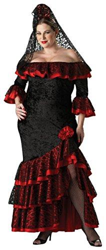 Senorita Adult Costume - Plus Size 3X]()