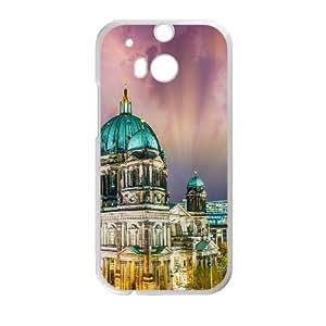HTC One M8 Cell Phone Case White Italian City Style Landscape OJ443735