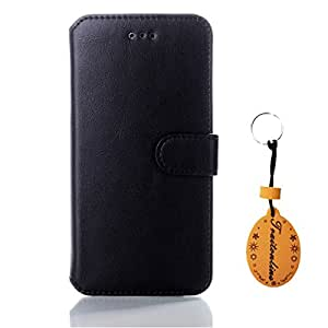 Traitonline Black Business Style 4.7inch Cases For iphone 6 PU Leather Case Protective Cover Build In Credit Card Slots