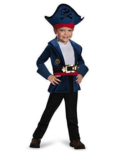 Jake And Pirates - Captain Jake Classic Costume, Large
