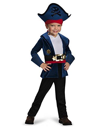 Captain Jake Classic Costume, Large (4-6)