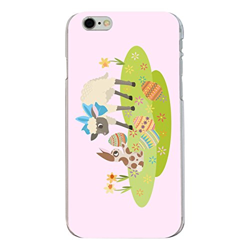"Disagu Design Case Coque pour Apple iPhone 6s Plus Housse etui coque pochette ""Osterhase und Lamm rosa"""