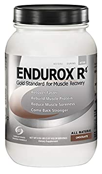 PacificHealth Endurox R4, All Natural Post Workout Recovery Drink Mix with Protein, Carbs, Electrolytes and Antioxidants for Superior Muscle Recovery, Net Wt. 4.56 lb., 28 serving Chocolate