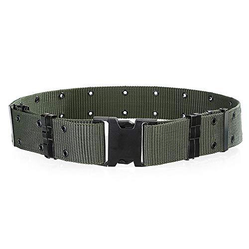 - OFEFAN Survival Tactical Belt, Emergency Fire Rescue Rigger Waist Belt Military CQB Belt