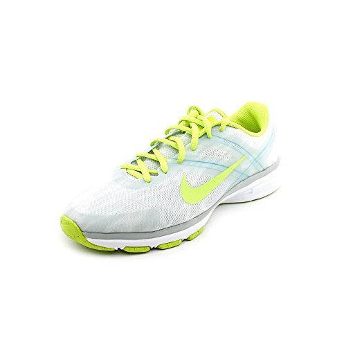 Nike Womens Dual Fusion TR 2 Print White/Light Base Grey/Turbo Green/Venom Green 8.5 B - Medium