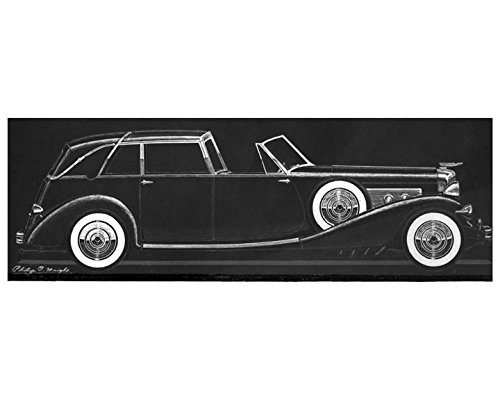 1936-duesenberg-town-car-photo-of-philip-wright-styling-drawing