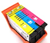 HouseOfToners Compatible Ink Cartridge Replacement for Dell Series 23 T106N (1 Color)
