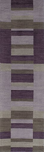Momeni Rugs METROMT-20LIL2380 Metro Collection, 100% Wool Hand Loomed Contemporary Area Rug, 2