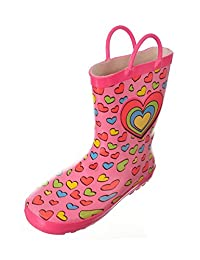 Chilipop Rainboots for Boys, Girls & Toddlers with Fun Colorful Prints