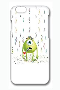 iPhone 6 Case, iPhone 6 Cases - Anti-Scratch 3D Print Hard Case for iPhone 6 Mike Wazowski Monsters University Customized Design Hard Case Cover for iPhone 6 4.7 Inches