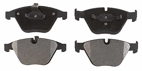 Prime Choice Auto Parts PCD918 Set Of Performance Front Ceramic Disc Brake Pads With Rubberized Shim
