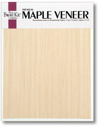 - Maple Toned Veneer, 6 Sheets, 8