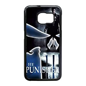 Protection Cover Otese Samsung Galaxy S6 Edge Cell Phone Case Black The Punisher Personalized Durable Cases