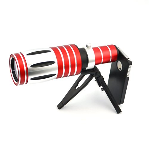 Apexel 50X Optical Zoom Aluminum Telescope/ Telephoto Lens Kit with Tripod/ Back Case for iPhone 6 by Apexel (Image #3)