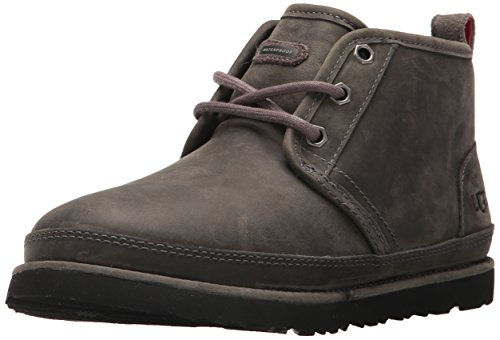 UGG Men's Neumel Waterproof Chukka Boot, Charcoal, 08 M US