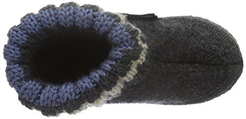 Haflinger Paul, Zapatillas de Casa, Infantil Gris (Graphit 77)