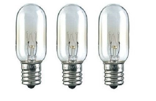 4 130v Bulbs (4 x Microwave Light Bulb for Ge WB36x10003 40w 130v Replacement 3 Pack - New)