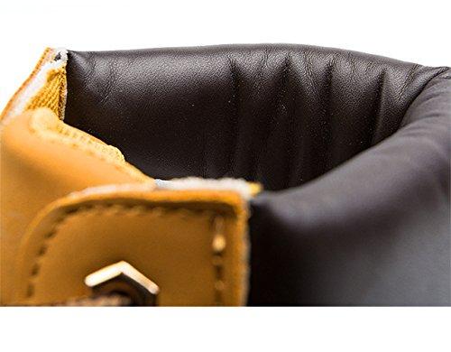 Yinhan (md) - Hiver Plus Size - Bottes En Coton Martin À Lacets