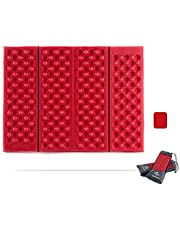 NatureHike Outdoor Egg Crate Folding Seat - Red, 405 x 305 x 10mm, NH60A060-Z