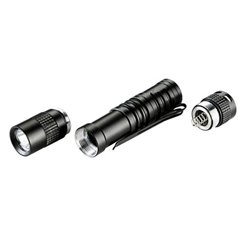 Mini Perman 1000 Lumens CREE XPE R3 LED Flashlight Lamp Light Clip Torch Penlight AAA Battery