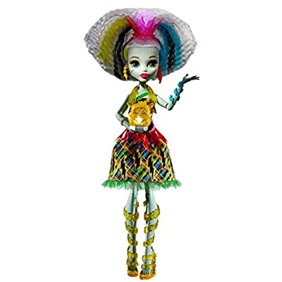 Monster High Electrified High Voltage Frankie Stein Doll: Toys & Games