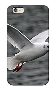 New White Flying Seagull Tpu Case Cover, Anti-scratch ODMWaeG1457JYLjH Phone Case For Iphone 6 With Design