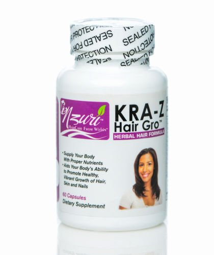 Hair Vitamins Fast Healthy Hair Growth Long Hair Growth Nzuri Kra-z Hair Gro Shipping Fast by Nzuri