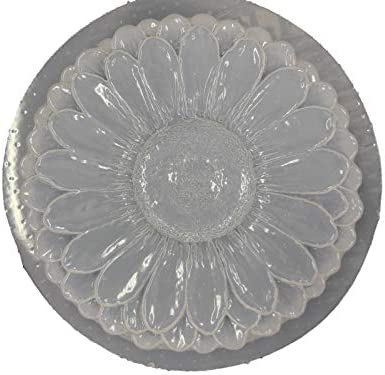 sunflower casting small plaster concrete and more for soap Sunflower shape