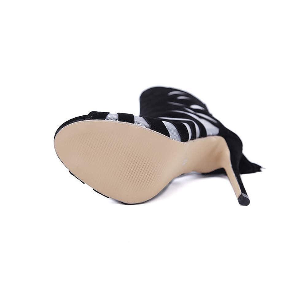 KOKQSX-Frauen - Stiefel Slim - - Heels sexy modisch Sandalen nackt - - Stiefel 338694