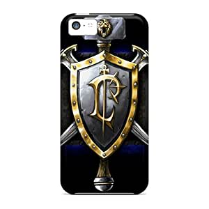 Excellent Cell-phone Hard Cover For Iphone 5c With Custom HD World Of Warcraft Pictures JoanneOickle