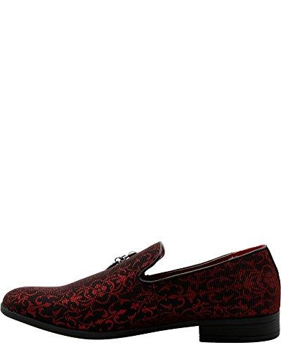 Faranzi - Mens Fashion Mocassino Rosso
