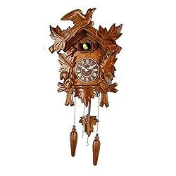13-inch Classic Forest Birds Cuckoo Clock, Home Decor, Specialty Quality, Quartz Timepieces - C00193